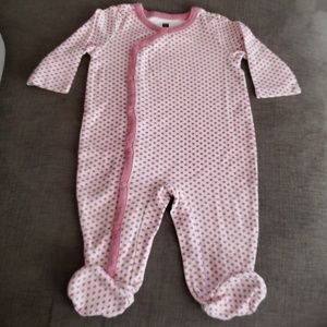 Tea Collection Long-Sleeved Footed Onesie